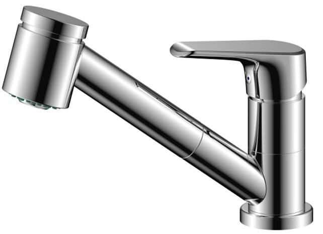 820710000 Origin Evo смеситель д/кухни, с вытяжным душем