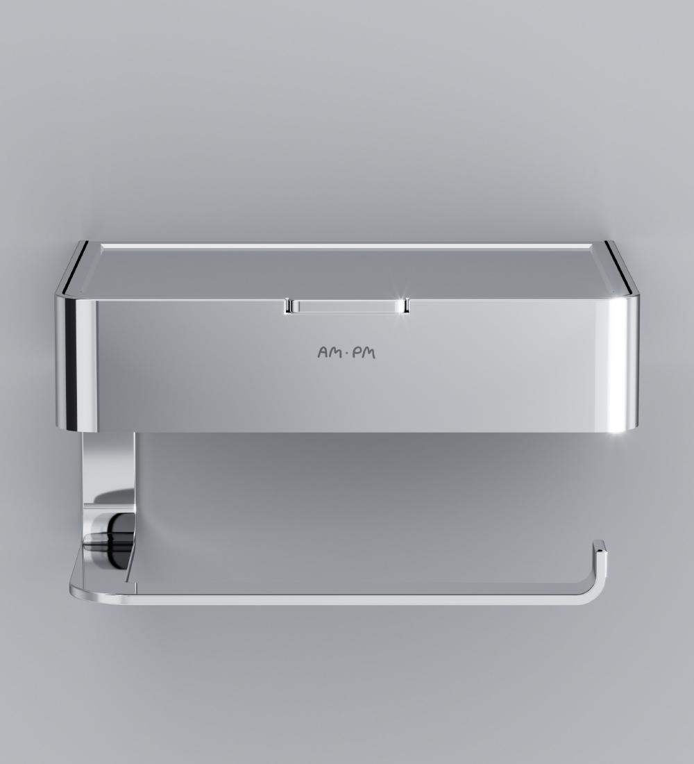 A50A341500 Inspire 2.0, Держатель для туалетной бумаги с коробкой, хром, шт