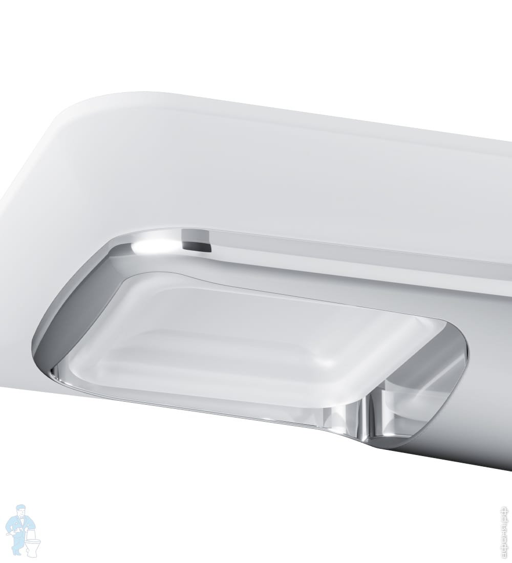 A50A34200 Inspire 2.0, Стеклянная мыльница с настенным держателем, хром, шт
