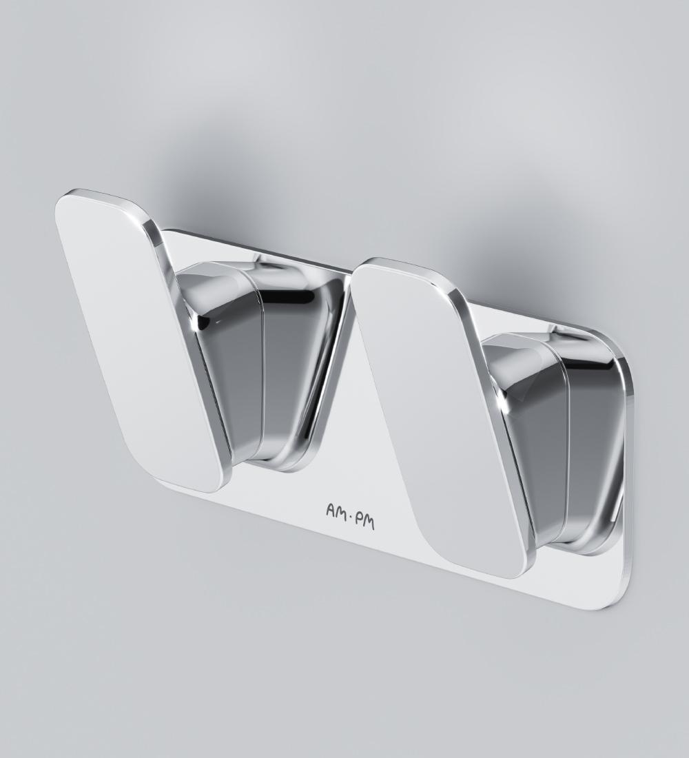 A50A35600 Inspire 2.0, Двойной крючок для полотенец, хром, шт