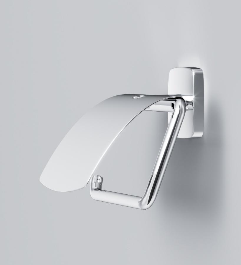 A90341400 Gem, Держатель для туалетной бумаги с крышкой