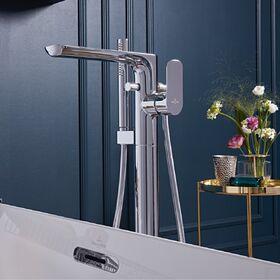 Напольный смеситель для ванны Villeroy&Boch TVT00050300061